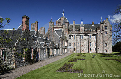 Thirlestane Castle - Scotland Editorial Stock Photo