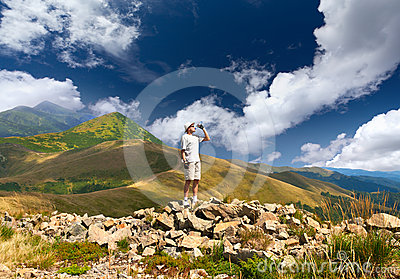 Thirsty Hiker Stock Images - Image: 24451784