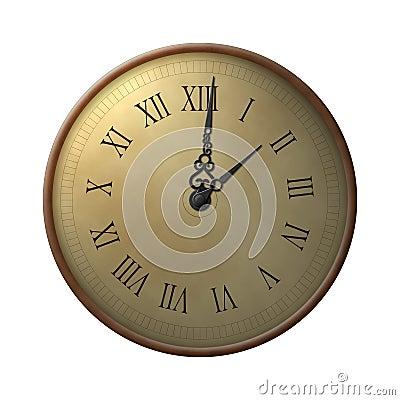 Thirteen hours clock