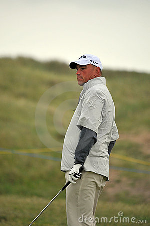 Thomas Bjorn British Open Sandwich 2011 Editorial Stock Image