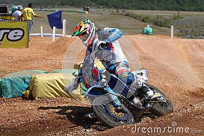 Thomas Chareyre at SuperMoto World Championship Editorial Photo