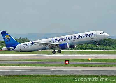 Thomas Cook Airbus A320 Editorial Photo