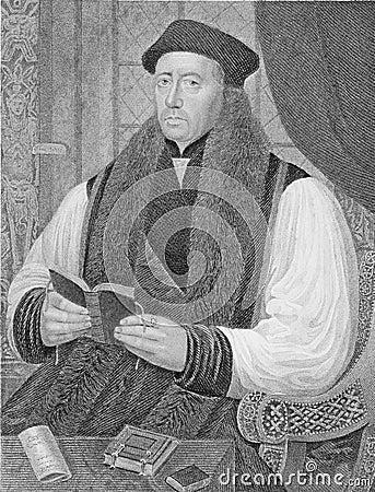 Thomas Cranmer Editorial Photography