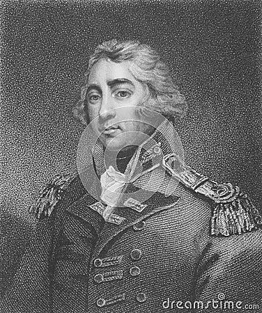 Thomas Graham, 1st Baron Lynedoch Editorial Photo