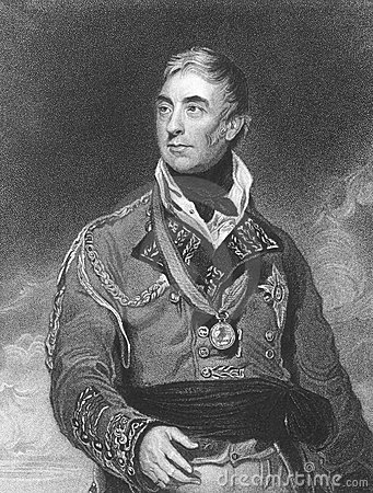 Thomas Graham, 1st Baron Lynedoch Editorial Stock Image