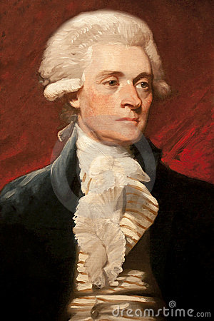 Free Thomas Jefferson Royalty Free Stock Photos - 15828328