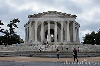 Thomas Jefferson Memorial Editorial Photography