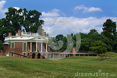 Thomas Jefferson s - Poplar Forest Editorial Stock Image