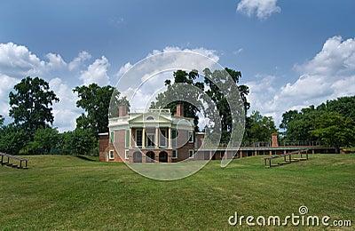 Thomas Jefferson s - Poplar Forest Editorial Stock Photo