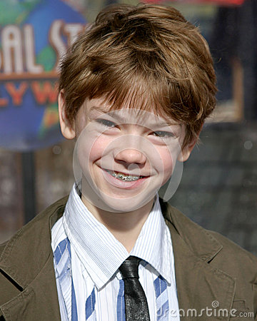 Thomas Sangster Editorial Stock Photo