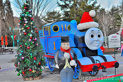 Thomas the train Editorial Stock Image