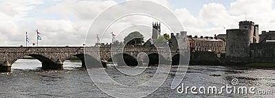 Medieval bridge and castle