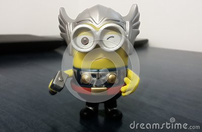 Thor Minion Editorial Stock Photo
