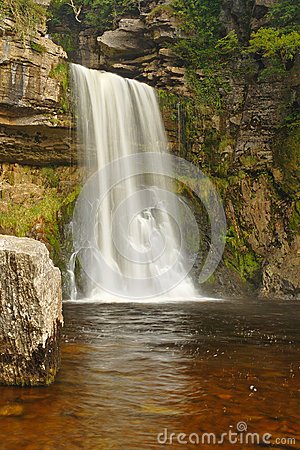 Thornton Force waterfall, UK