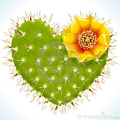 Free Thorny Heart Royalty Free Stock Photo - 15847275