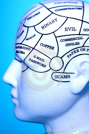 Free Thought Brain Head Memory  Stock Image - 5127611
