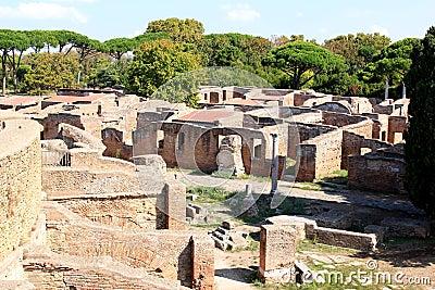 Ruins in ostia antica italy stock image image 30157281 for Mr arredamenti ostia antica