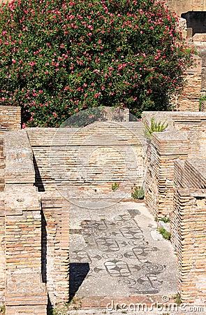 Mosaics in ostia antica italy stock images image 30157494 for Mr arredamenti ostia antica