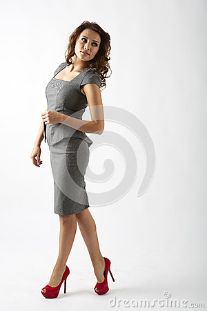 Free Thoughtful Business Woman Stock Images - 47780894
