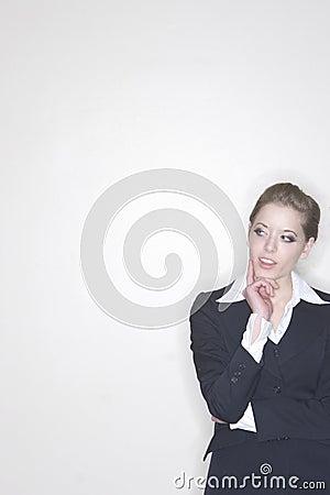 Free Thoughtful Businesswoman Stock Photo - 2383270