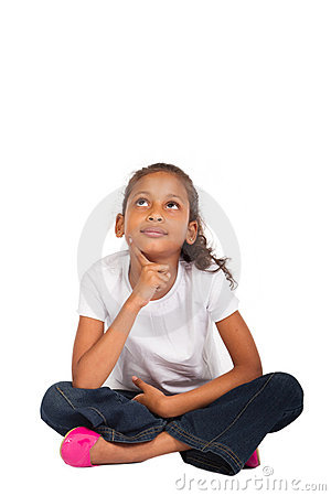 Free Thoughtful Young Girl Stock Photography - 15527782