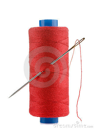 Free Thread And Needle Royalty Free Stock Photos - 24045518