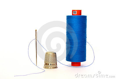 Thread with a needle