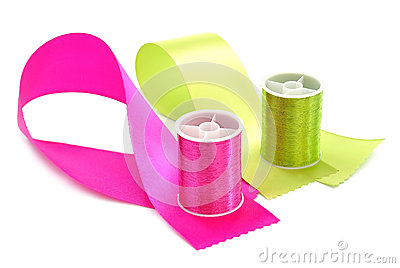 Thread and ribbon