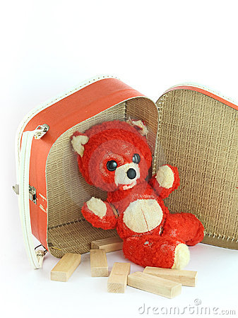 Threadbare bear