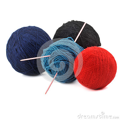 Free Threads For Knitting Royalty Free Stock Image - 50994456
