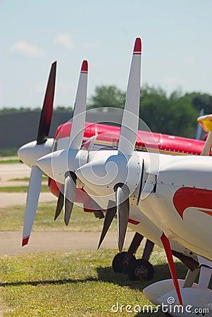 Three Airplanes