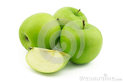 Three apples and one quarter