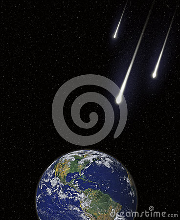 Asteroids Meteors Comets Collision Course With Ear