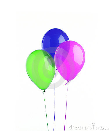 Three baloons