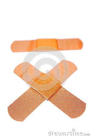Three bandages