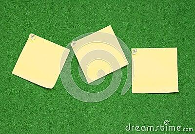 Three bank note