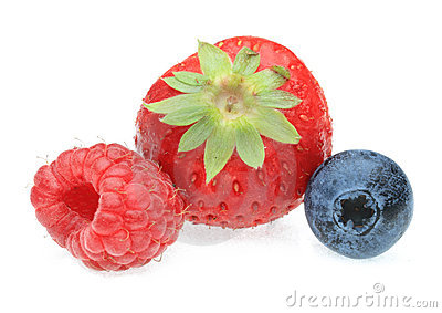 Three berry fruits