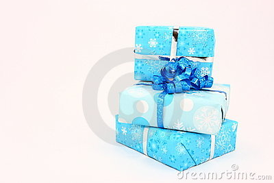 Three Blue Holiday Gifts