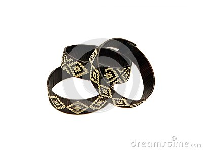 Three braided bracelets
