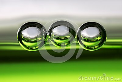 Three bubbles