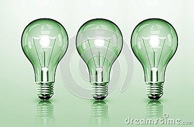 Three Bulb