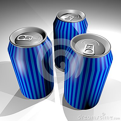 Three cans