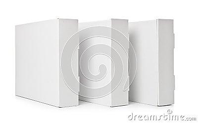 Three Cardboard Box