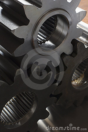 Free Three Cogs Against The Light Stock Images - 716384