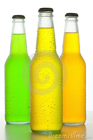 Free Three Cold Drinks Stock Image - 10639221