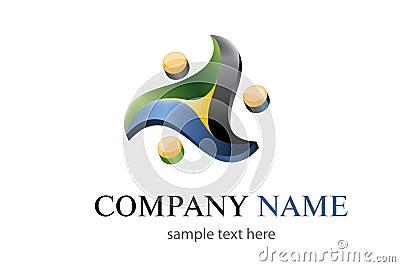 Three colors logo