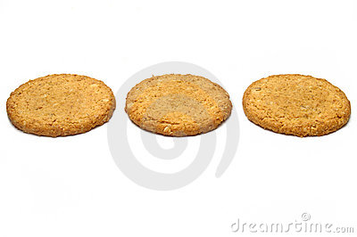 Three cookies in a row