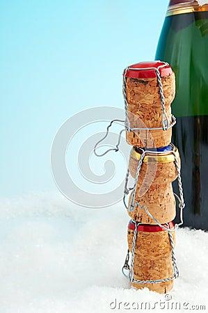 Three corks