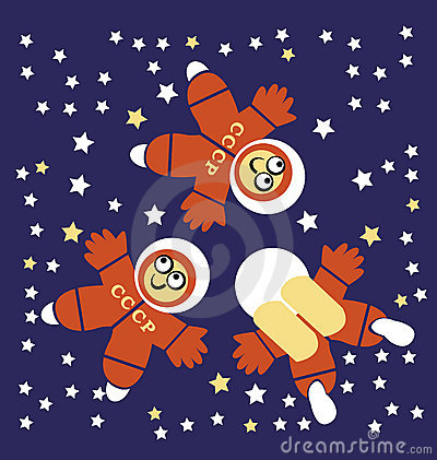 Three Cosmonauts