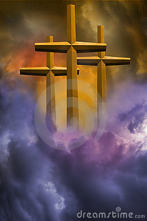 Free Three Crosses Stock Image - 4250191